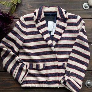J. Crew Collection Legion Stripe Jacket